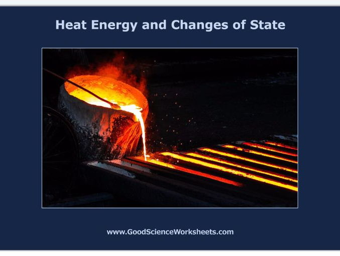 Heat Energy and Changes of State [Worksheet – Print Version]