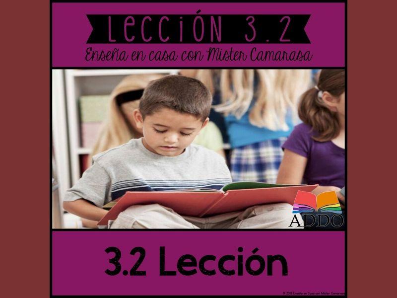 LECCION MORAL MENSAJE HISTORIA (2 TEXTOS) - SPANISH- Lección 3.2 FREE