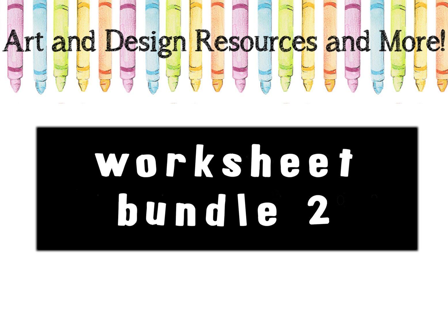 Graphics and Graffiti worksheets