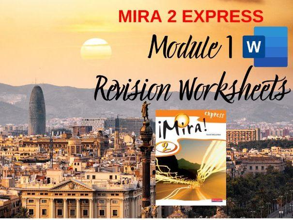 Mira 2 Express Module 1 Worksheets