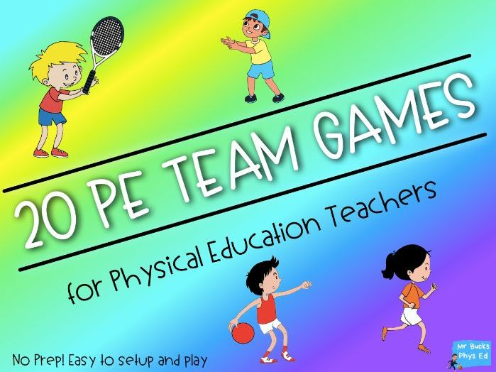 Physical Education - 20 Team Games