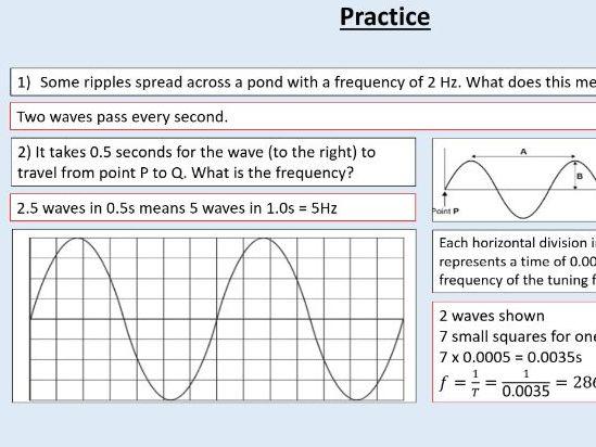 AQA GCSE Physics (4.6.1.2) Waves - Properties of waves