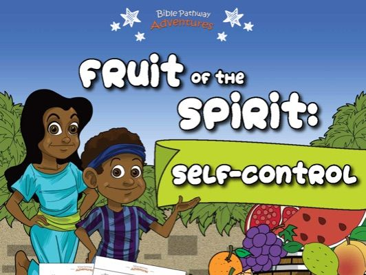 SELF-CONTROL: Fruit of the Spirit Activity Book for Beginners