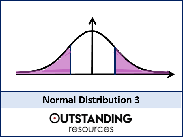 Statistics: (S1) Normal Distribution 3 - Problems (+ worksheets)