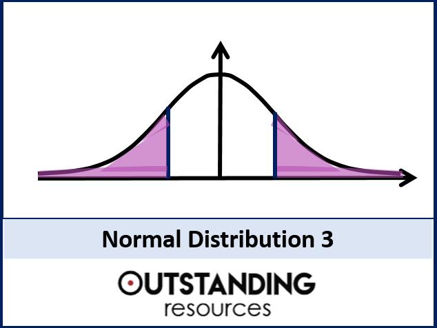 Statistics: (S1) Normal Distribution 3 - Problems (+ worksheets)