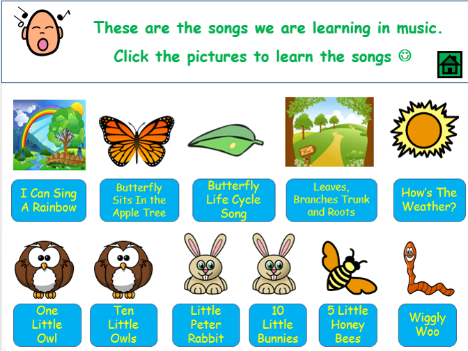 FOREST SCHOOLS MUSIC ACTIVITIES