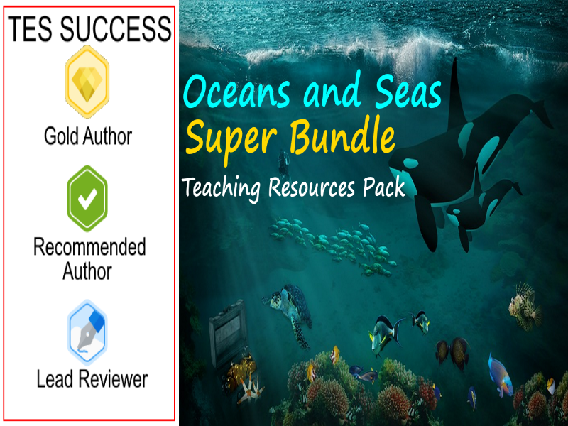 Oceans and Seas Bundle