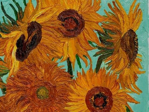 Primary Art Van Gogh- Sunflowers