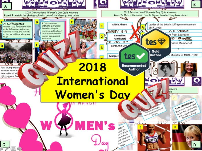 2018 International Women's Day