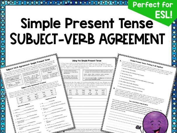 Subject-Verb Agreement Practice