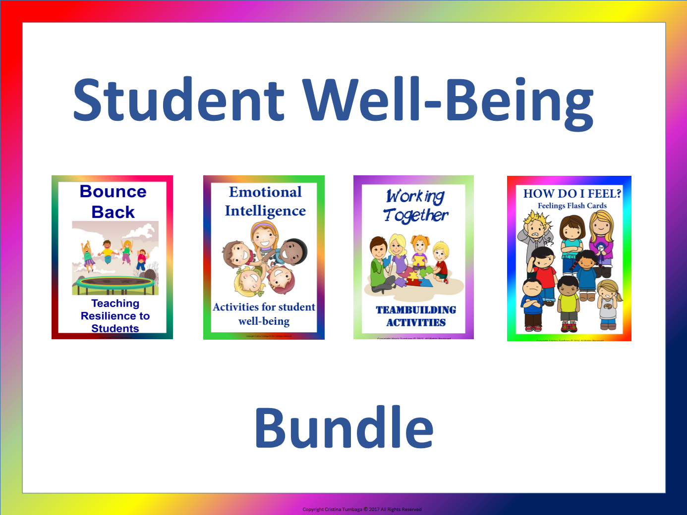 Student Well Being- Bundle