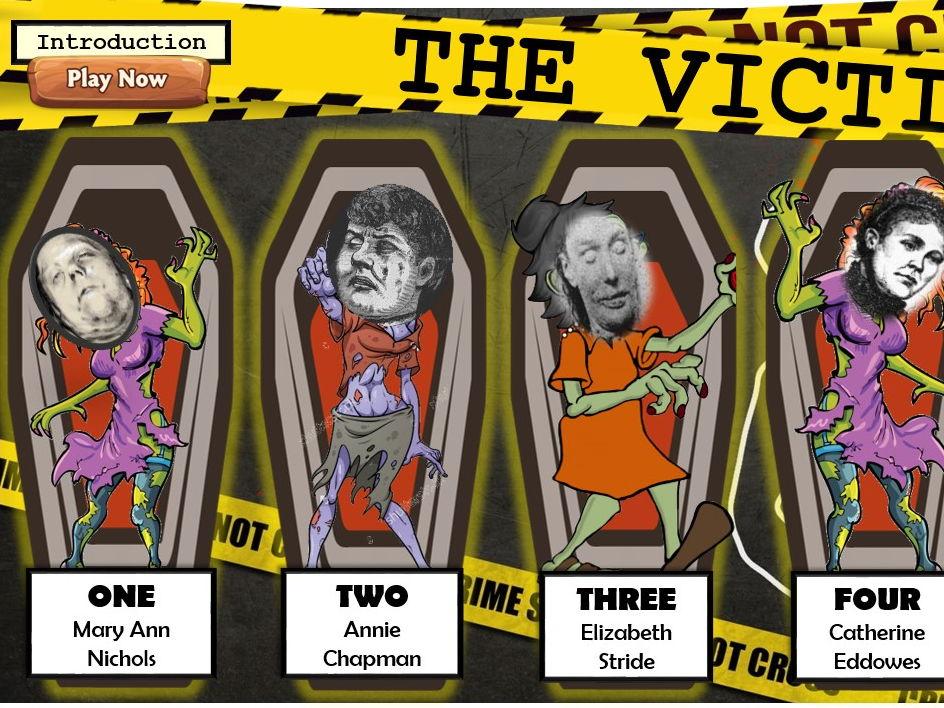 Edexcel GCSE History 1-9 Whitechapel Jack the Ripper full lesson pack.