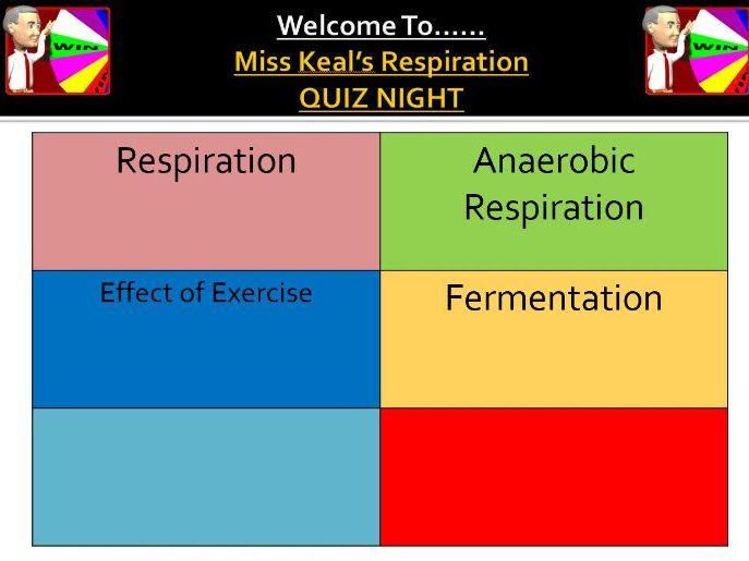 Respiration Revision Quiz