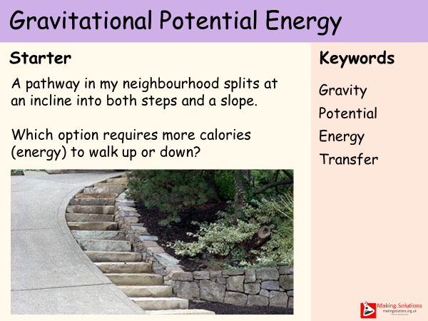 AQA Chapter 1 - Lesson 4 - Gravitational Potential Energy