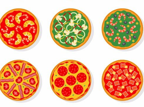 Food Vocabulary (Pizza Ingredients) Spanish elementary level, primary