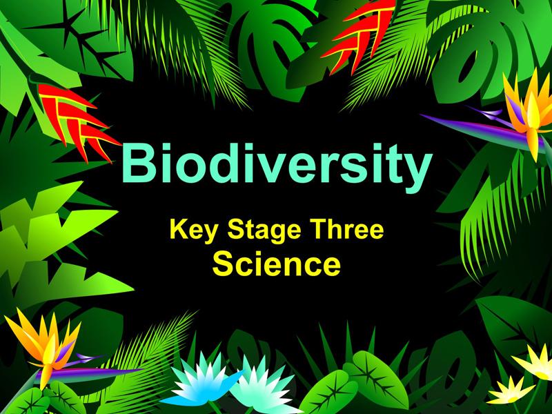Biodiversity KS3 AQA (Basic lesson)