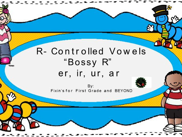 R-Controlled printable packet (5 days); Reinforce er, ir, ur, ar; Working with Words!