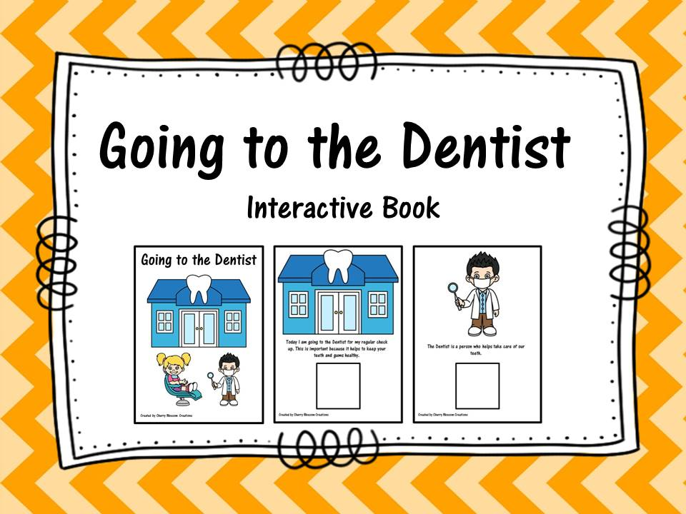 Going to the Dentist Interactive Book