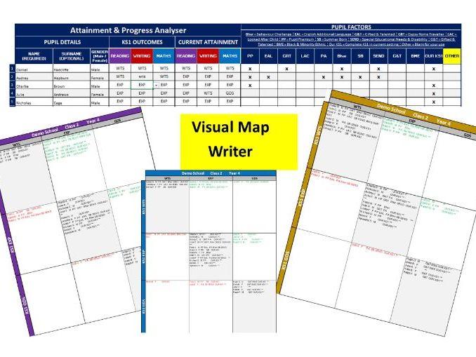 Visual Map Writer