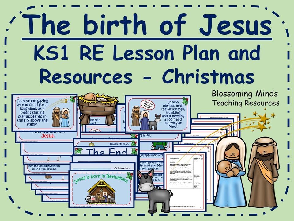 Christmas RE lesson - The birth of Jesus - KS1