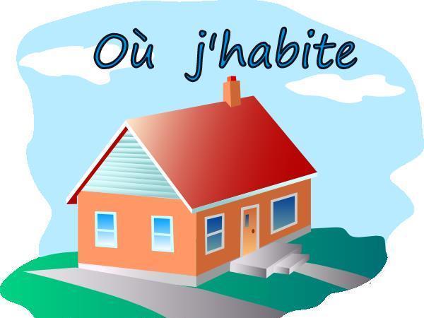 FRENCH - Where i Live - Où j'habite - BUNDLE