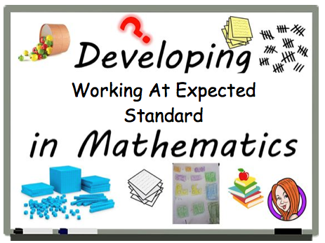 KS1 - Year 2 Maths - FULL YEAR WORKING AT EXPECTED PACK - UPDATED 2018 - NEW CURRICULUM