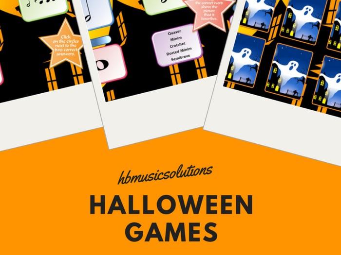 Halloween Interactive Music Games