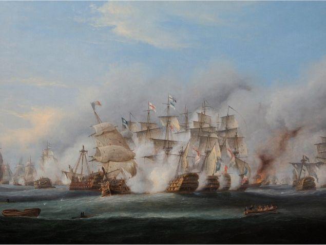 Battle of Trafalgar Image Pack