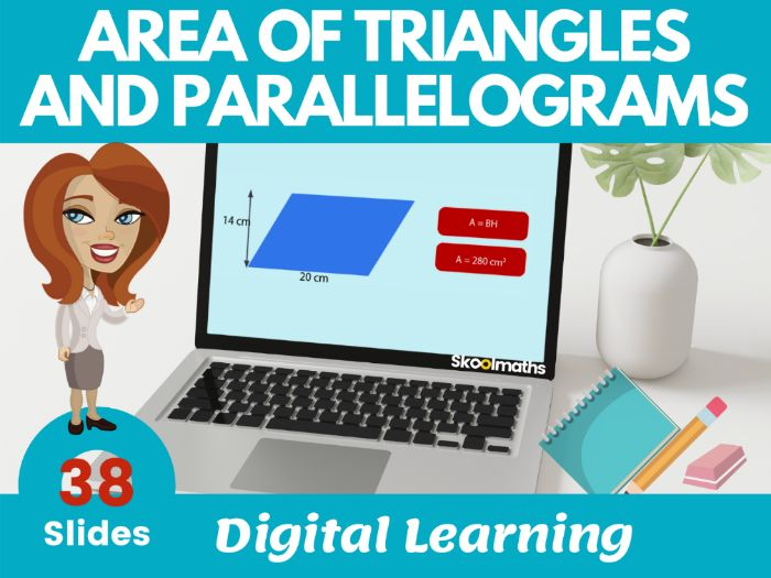 Area of Parallelogram and Triangles