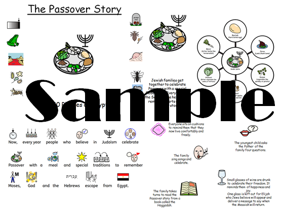 The Passover Story and celebrations  SEN