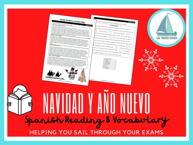 Navidad, Año Nuevo y los Reyes Magos: Spanish GCSE Practice