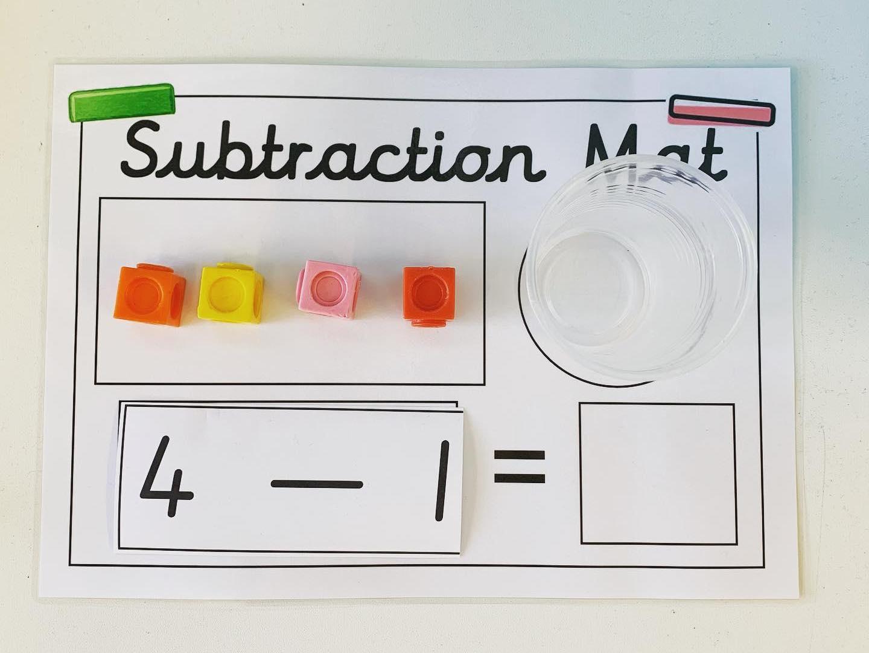 Subtraction Mat