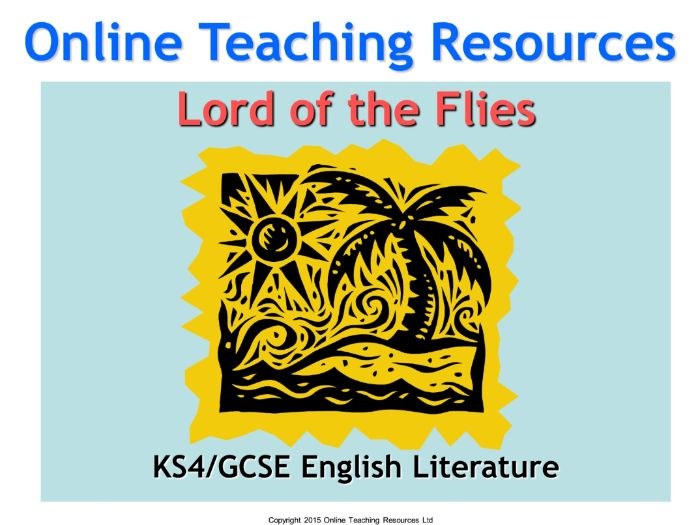 Lord Of The Flies Teaching Unit Includes 188 Slide Powerpoint 72