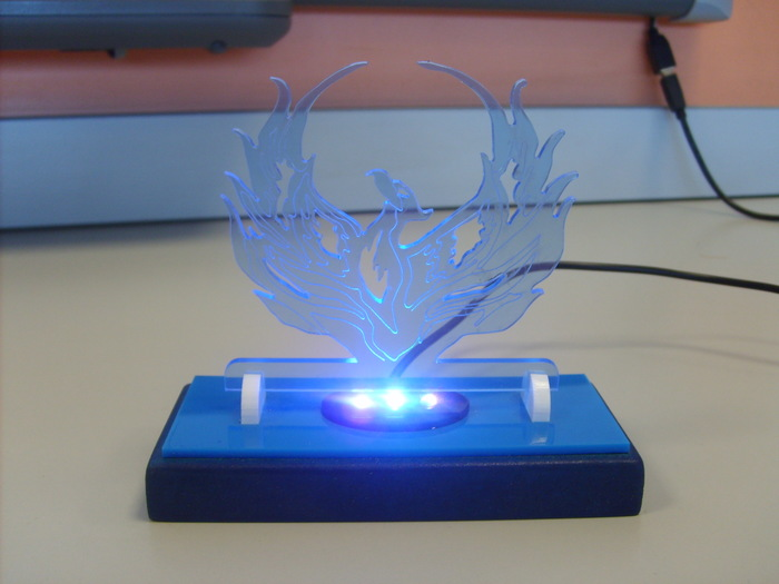 CAD USB powered light project