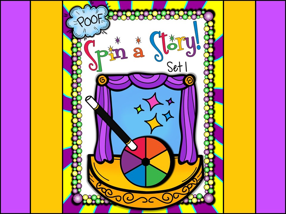 Story Telling Spin-a-Story Set 1