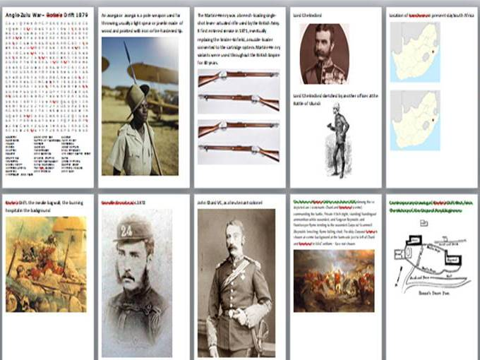 The Anglo-Zulu War of 1879 Activity Pack