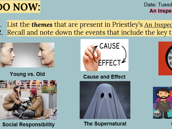 An Inspector Calls Revision Lesson