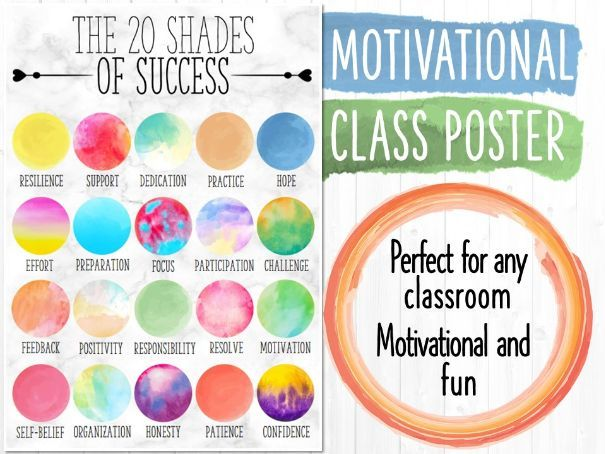 A3 Motivational Poster