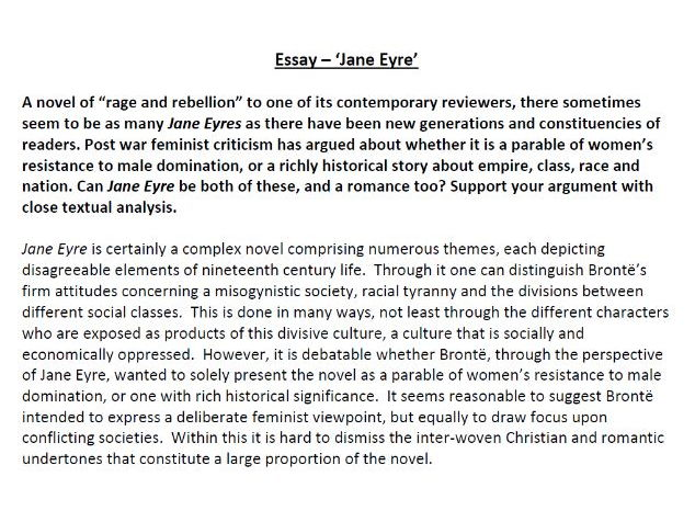poetry essay s shop teaching resources tes  jane eyre essay ·