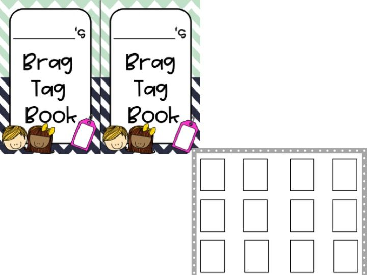 Free Brag Tag Book