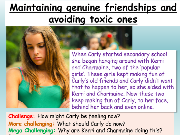 Friendships + Bullying PSHE