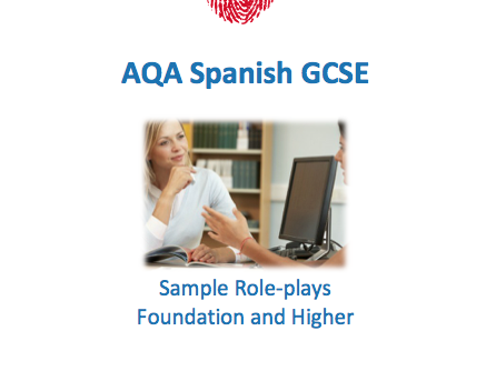 AQA Spanish GCSE Speaking Workbook - Role-plays
