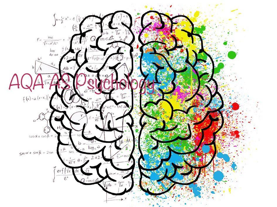 AS AQA psychology Paper 1
