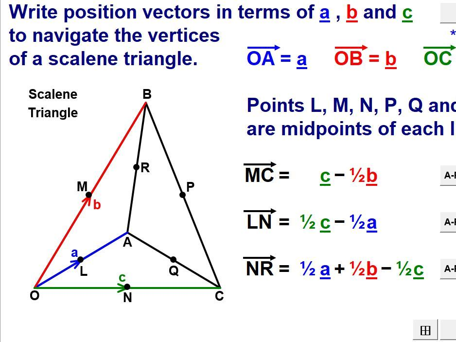 Vectors (Higher)