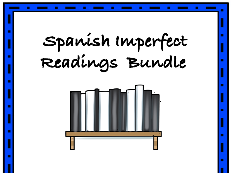 Spanish Imperfect Readings Bundle: Top 3 Lecturas @35% off!