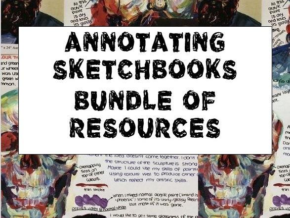 Annotating Sketchbooks Bundle