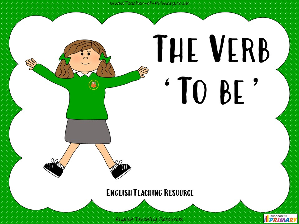 The Verb 'To be'