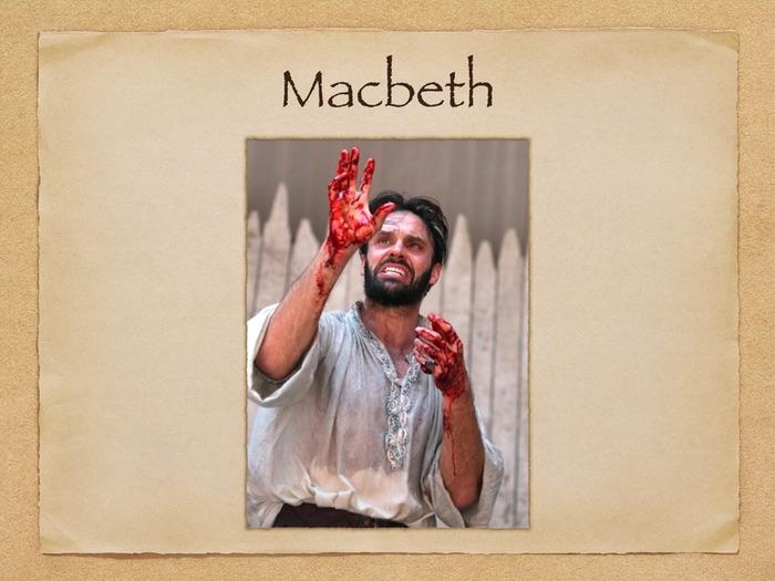 Macbeth: Act One scenes 1 - 3