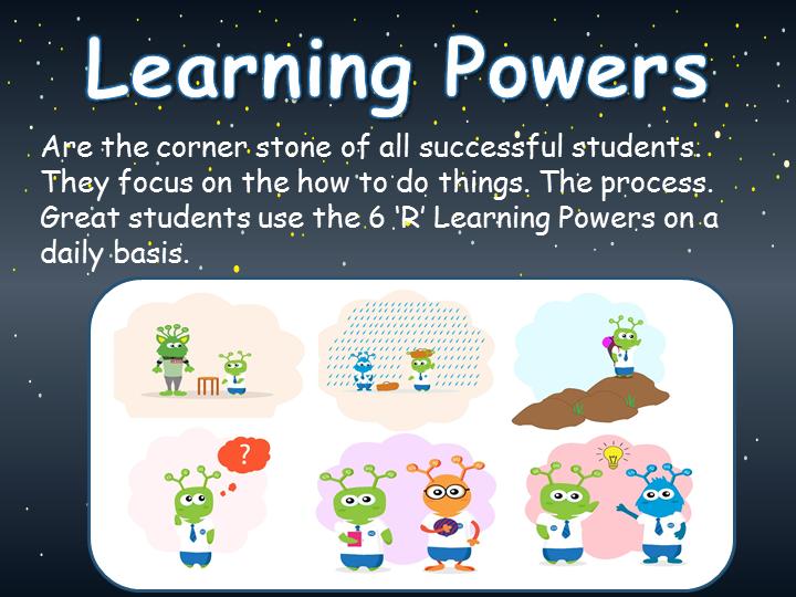 Learning Powers - The 6 Rs