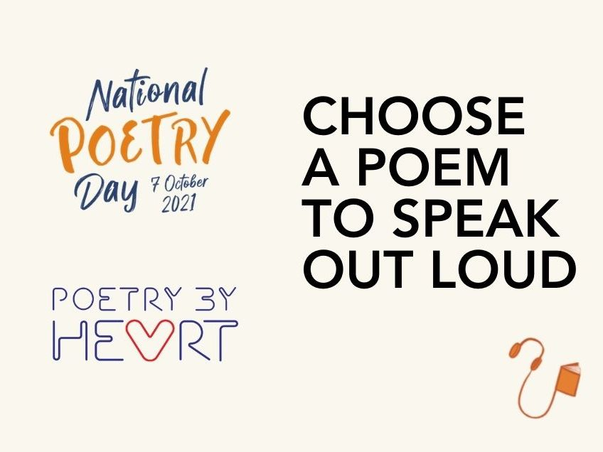 National Poetry Day 2021 Poetry by Heart KS 1-2 Resource